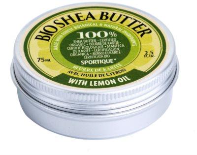 Sportique Wellness Lemon Oil reine Sheabutter