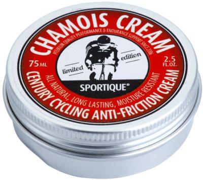 Sportique Sports Limited Edition crema protectora para las zonas expuestas a la fricción para deportistas