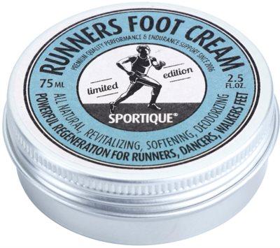 Sportique Sports Limited Edition creme revitalizante para os pés gretados