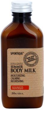 Sportique Wellness Mango hydratisierende Körpermilch