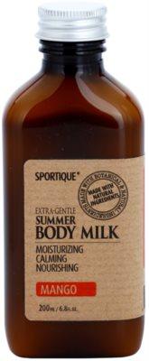 Sportique Wellness Mango leite corporal hidratante