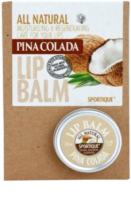Sportique Wellness Pina Colada balzam za ustnice