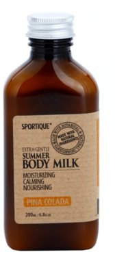 Sportique Wellness Pina Colada leche corporal hidratante