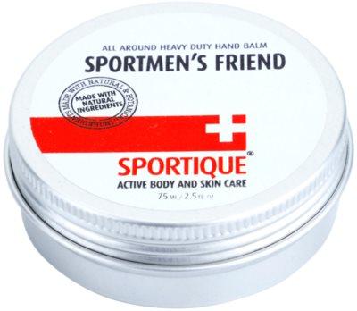 Sportique Sports bálsamo de mãos para pele seca para desportistas