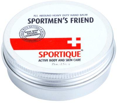 Sportique Sports balzsam a száraz és igénybevett kezekre sportolóknak