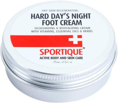 Sportique Sports revitalisierende Creme für rissige Füße
