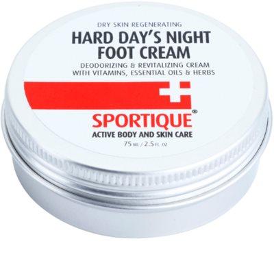 Sportique Sports ревитализиращ крем за напукани крака
