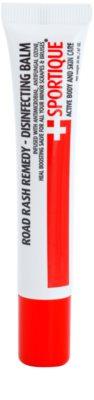 Sportique Sports balsam antyseptycznym na otarcia