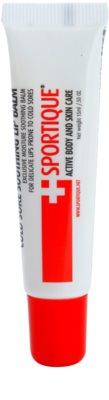Sportique Sports Lippenbalsam bei Erkältungen