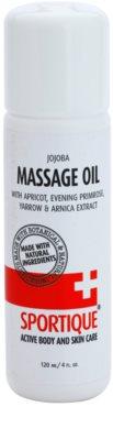 Sportique Sports masážní olej pro sportovce