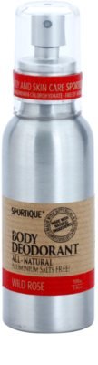 Sportique Wellness Wild Rose naturalny dezodorant w sprayu