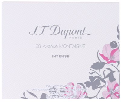 S.T. Dupont 58 Avenue Montaigne Intense eau de parfum nőknek 4