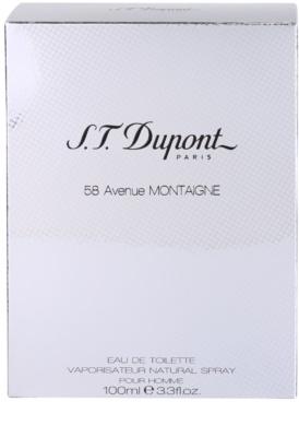 S.T. Dupont 58 Avenue Montaigne Eau de Toilette para homens 4