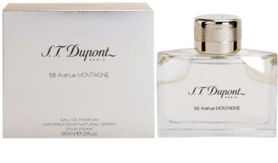 S.T. Dupont 58 Avenue Montaigne eau de parfum nőknek