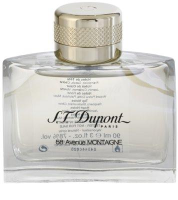 S.T. Dupont 58 Avenue Montaigne eau de parfum teszter nőknek