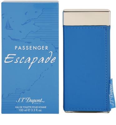 S.T. Dupont Passenger Escapade Pour Homme Eau de Toilette pentru barbati