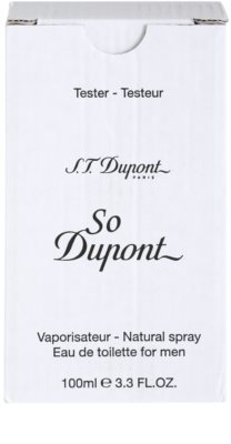 S.T. Dupont So Dupont toaletní voda tester pro muže 1