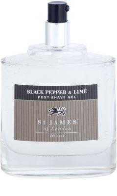 St. James Of London Black Pepper & Persian Lime After Shave Gel for Men 3