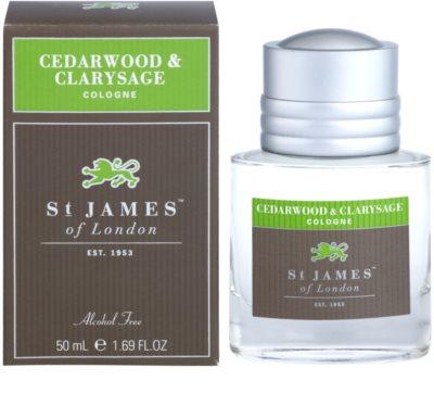 St. James Of London Cedarwood & Clarysage woda kolońska dla mężczyzn