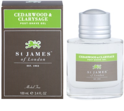 St. James Of London Cedarwood & Clarysage gel after shave para hombre