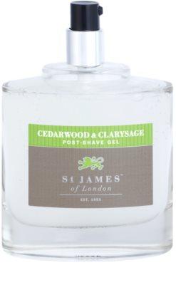 St. James Of London Cedarwood & Clarysage gel po holení pro muže 3