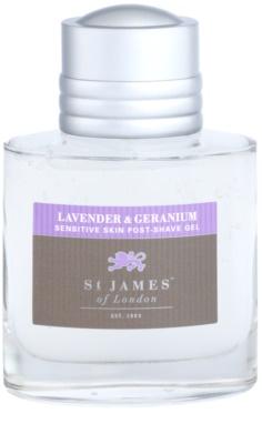 St. James Of London Lavender & Geranium After-Shave Gel für Herren 2