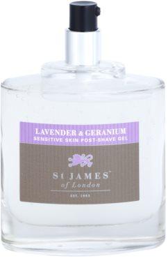 St. James Of London Lavender & Geranium After-Shave Gel für Herren 3