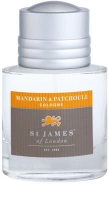 St. James Of London Mandarin & Patchouli Eau de Cologne para homens 3