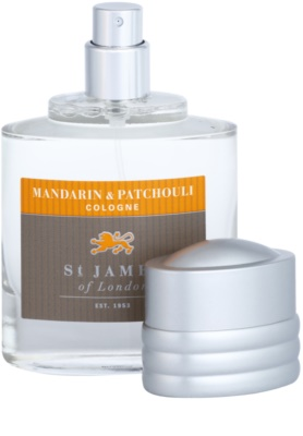 St. James Of London Mandarin & Patchouli Eau de Cologne para homens 4