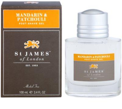 St. James Of London Mandarin & Patchouli gel After-Shave pentru barbati