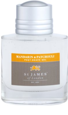 St. James Of London Mandarin & Patchouli gel za po britju za moške 2
