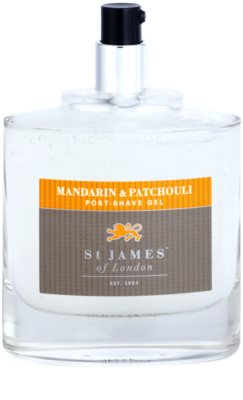 St. James Of London Mandarin & Patchouli gel za po britju za moške 3