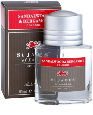 St. James Of London Sandalwood & Bergamot одеколон за мъже 2