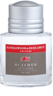 St. James Of London Sandalwood & Bergamot Eau de Cologne para homens 3