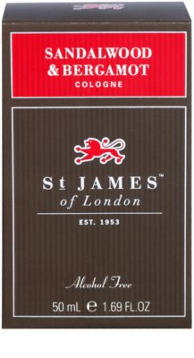 St. James Of London Sandalwood & Bergamot одеколон за мъже 1