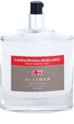 St. James Of London Sandalwood & Bergamot gel po holení pro muže 3