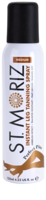 St. Moriz Instant spray autobronceador para unas piernas perfectas