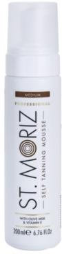 St. Moriz Self Tanning espuma autobronzeadora