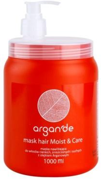 Stapiz Argan'de Moist&Care masca pentru par uscat si deteriorat