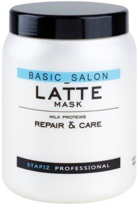 Stapiz Basic Salon Latte маска  с млечен протеин