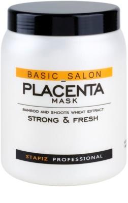 Stapiz Basic Salon Placenta Hydratisierende Maske für brüchiges und strapaziertes Haar