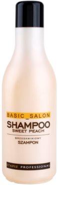 Stapiz Basic Salon Sweet Peach champú para cabello normal