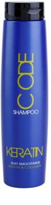 Stapiz Keratin Code champú reparador para cabello seco y dañado