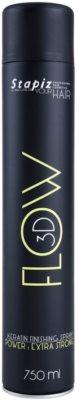 Stapiz Flow 3D spray fixador de queratina fixação extra forte