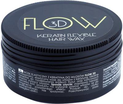 Stapiz Flow 3D vosek za lase s keratinom