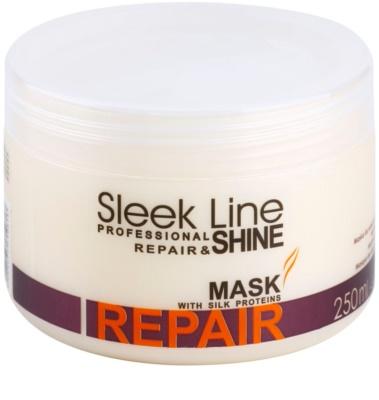 Stapiz Sleek Line Repair obnovující maska pro poškozené, chemicky ošetřené vlasy