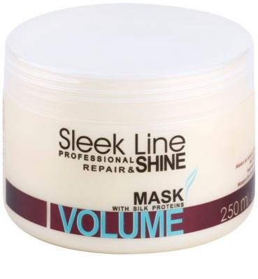 Stapiz Sleek Line Volume maseczka nawilżająca do włosów cienkich i delikatnych