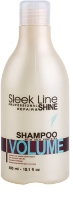 Stapiz Sleek Line Volume champú hidratante para cabello fino