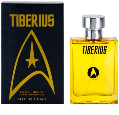 Star Trek Tiberius Eau de Toilette para homens