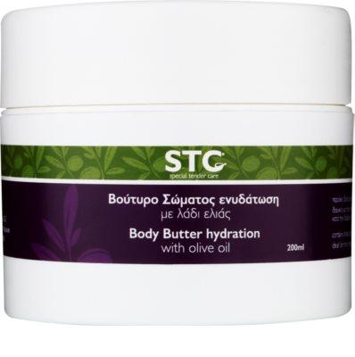 STC Body unt  pentru corp cu ulei de masline